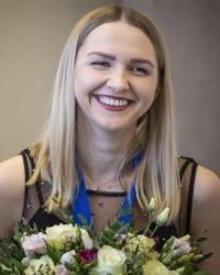 Стоклеточные шашки, чемпионка мира 2019 - Наталия Садовска
