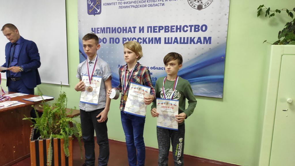 Чемпионат и Первенство СЗФО по русским шашкам 2019 (итоги)