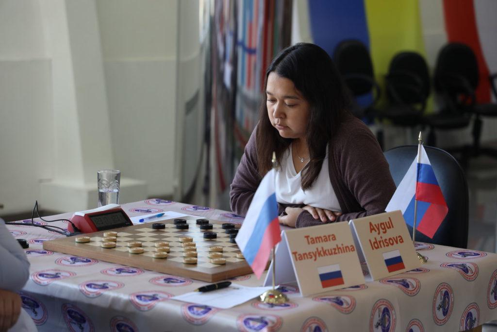 Чемпионат мира среди женщин по стоклеточным шашкам 2019
