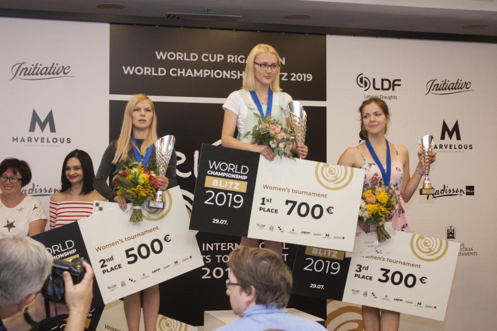 Чемпионат мира по стоклеточным шашкам. Блиц. 2019