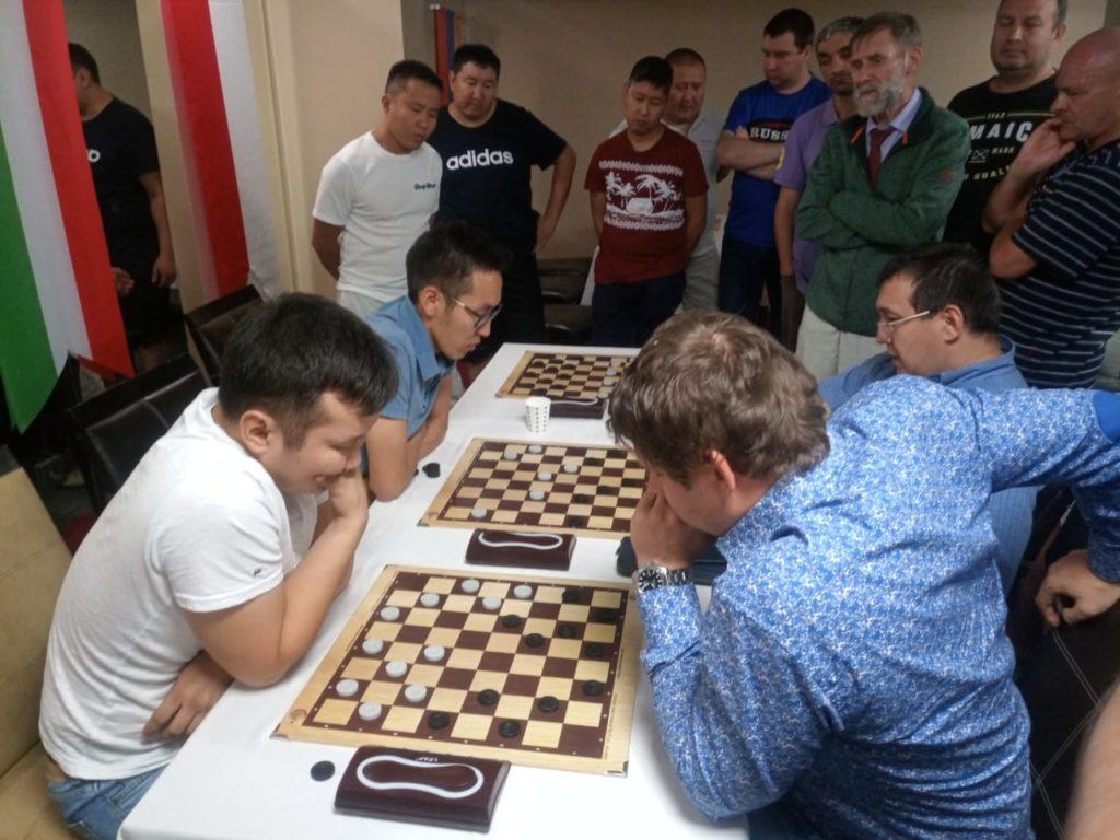 Командный Чемпионат Мира по шашкам-64 2019