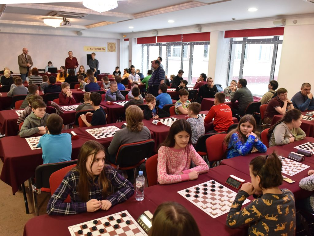 первенство ЦФО по русским шашкам 2020