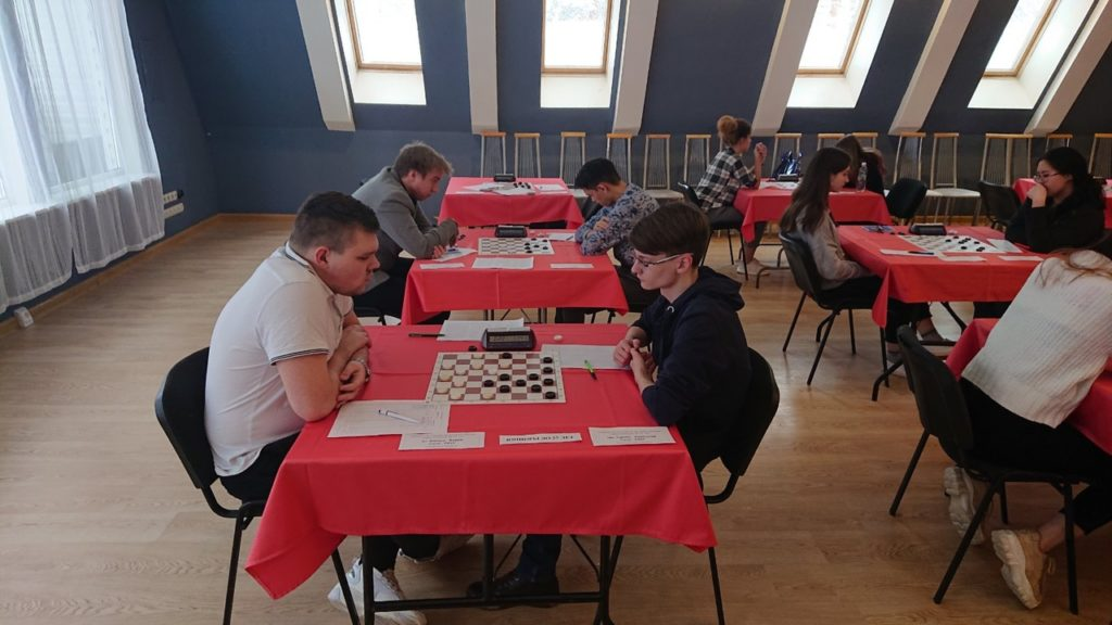 Стартовало Первенство России по русским шашкам 2020