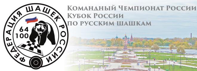 Кубок России, Командный Чемпионат России по русским шашкам 2020