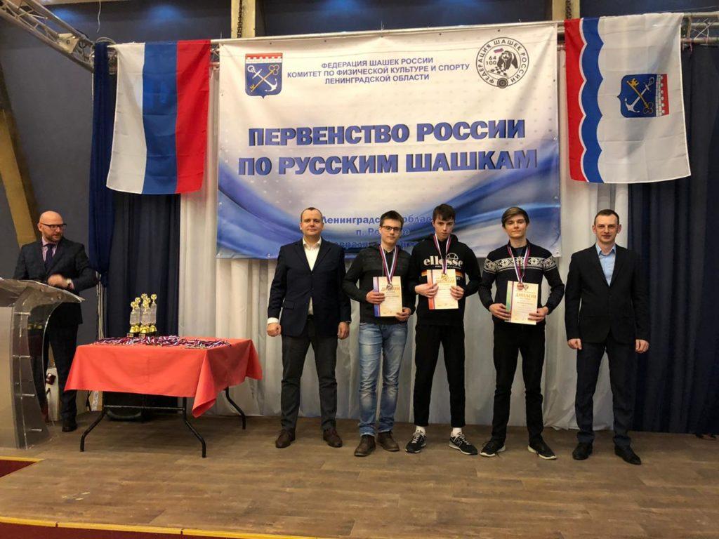 Первенство России по русским шашкам 2020