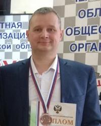 Обратные шашки (поддавки), чемпион России 2019 - Сергей Шеханов