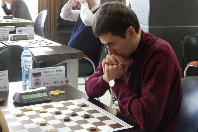 Онлайн-матч по русским шашкам между командами России и Беларуси