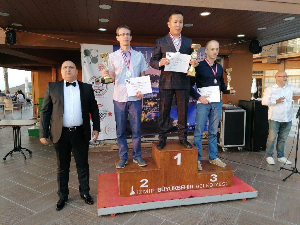Чемпионат мира по шашкам-64 2020