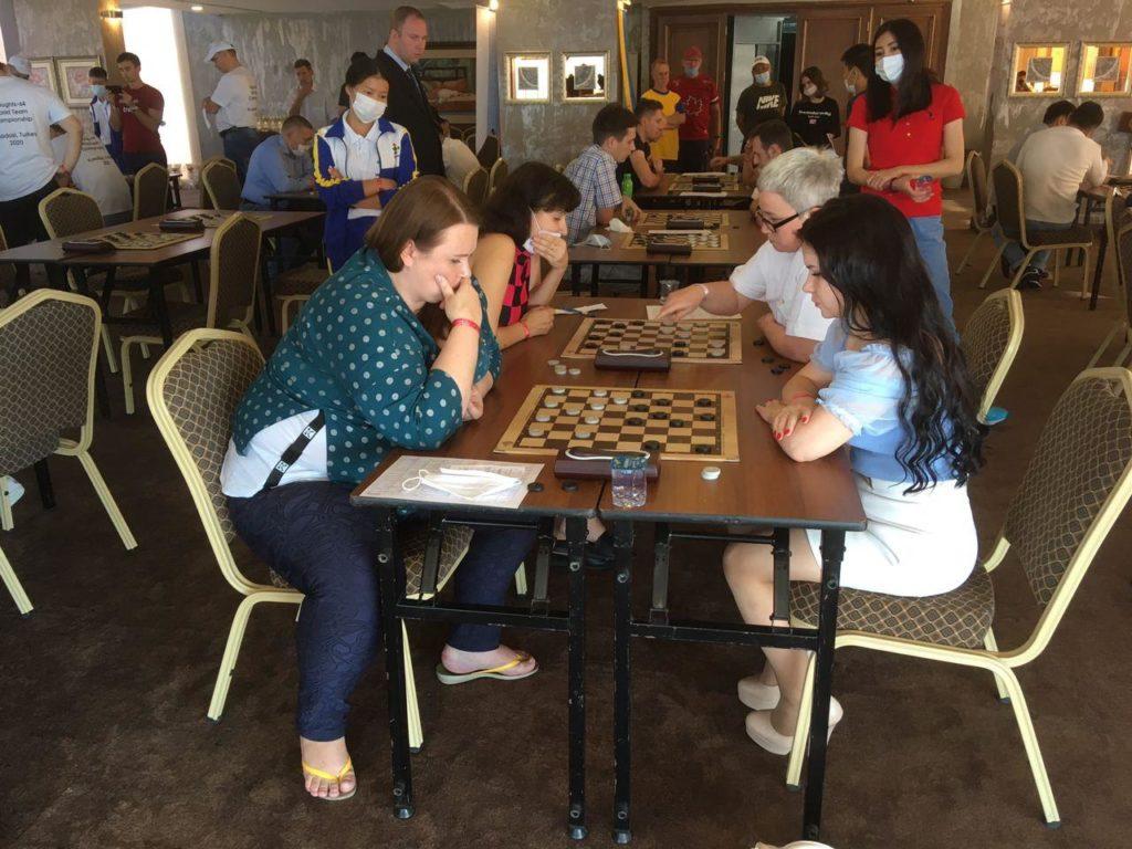 Командный Чемпионат мира по шашкам-64 2020