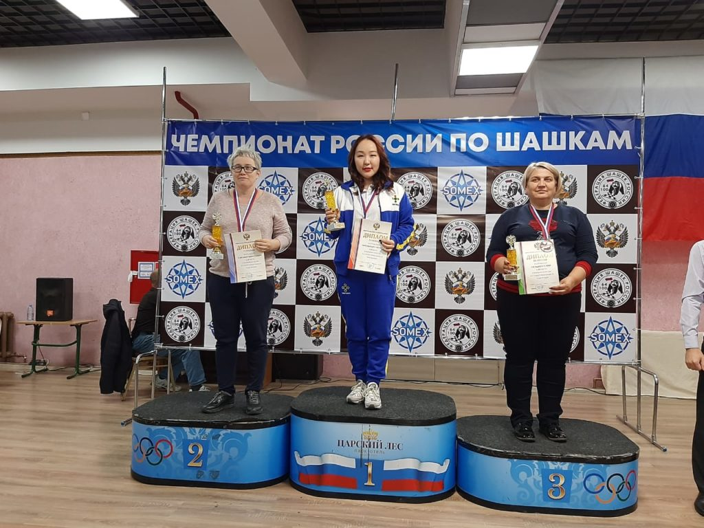 Итоги: Чемпионат и Первенство России по русским и стоклеточным шашкам 2020