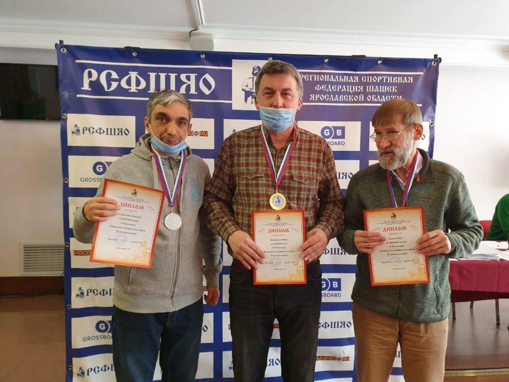 Чемпионат и Первенство ЦФО по русским шашкам 2021