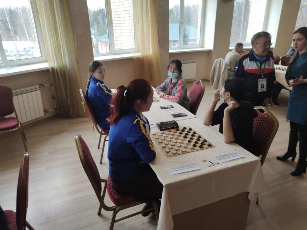 Командный Чемпионат России по стоклеточным шашкам 2021