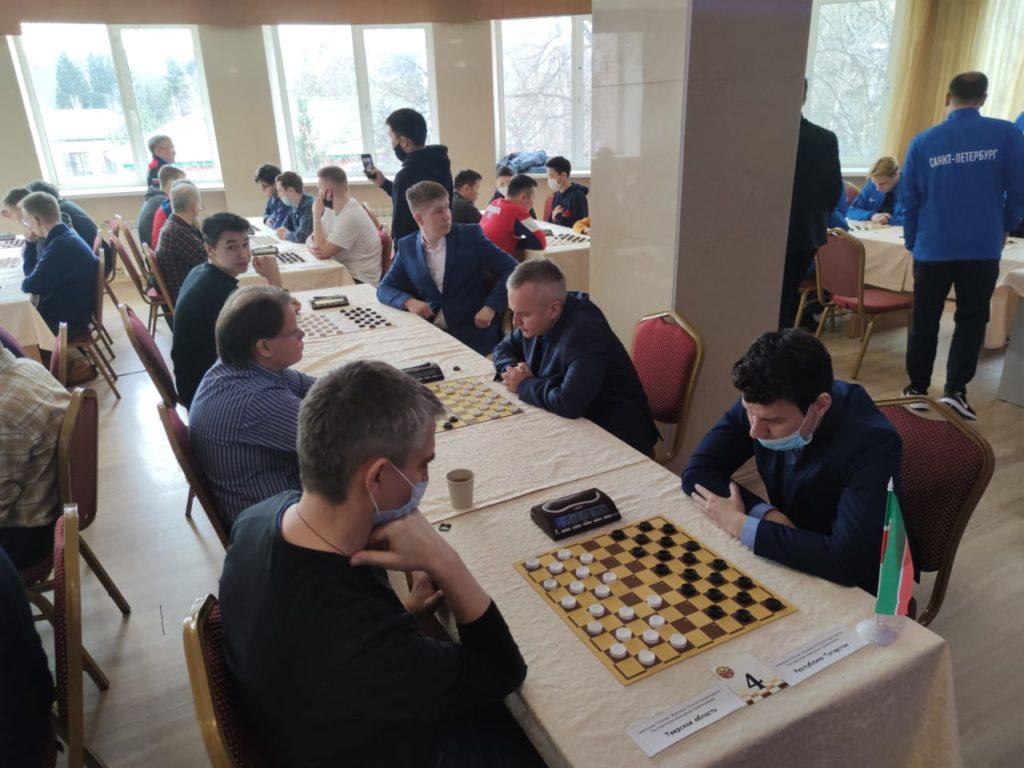 Командный Чемпионат России по стоклеточным шашкам 2021 (итоги)