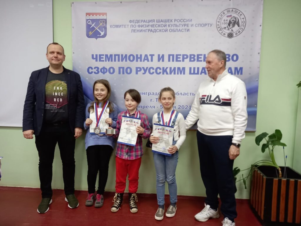 Чемпионат и Первенство СЗФО по русским шашкам 2021
