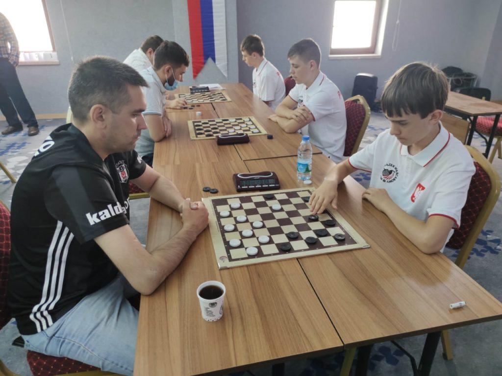 Командный Чемпионат мира по шашкам-64 2021