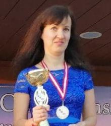 Русские шашки, чемпионка мира 2020 - Юлия Макаренкова